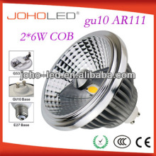 30 degree led cob ar111 led spotlight 13 watt 15 watt gu10 led lamp