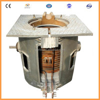 Factory price small 1ton lead scrap metal melting equipment