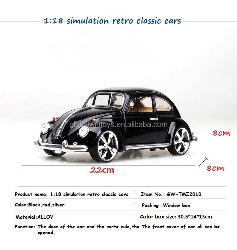 1/18 die cast car model classic cars model for sale, View classic ...