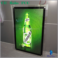 Factory mass production for LED light box for beer advertising