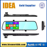 5 inch rearview mirror TN/IPS screen with radar detector