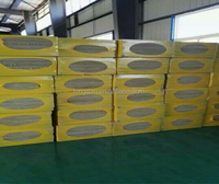 Fire-proof Insulation density 120kg/m3 A60 Marine Rockwool Board with Side Aluminum Foil