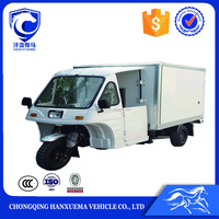 Chongqing cheap price mobile food cart commercial fast food motor tricycle