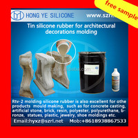 free sample,liquid silicone rubber for cement products mold making
