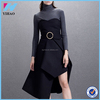 Fashion Sleeveless Wholesale Sexy Free Form Dress Split Sexy Long Cute Black Japanese prom Dresses Long Sexy Backless Dress
