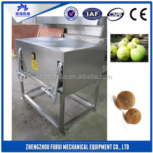 coconut processing machinery/coconut cutter