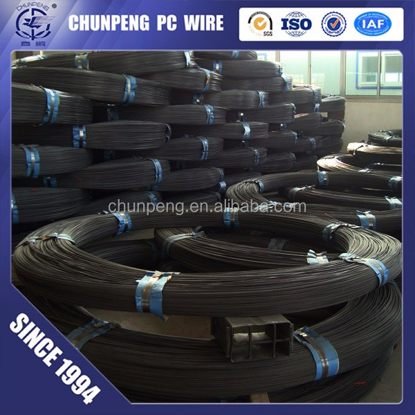 High Tensile Steel Wire prestressed tendon wire Pc Steel Wire