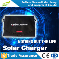 12w14w16w 5v rechargeable solar powered usb batery phone charger