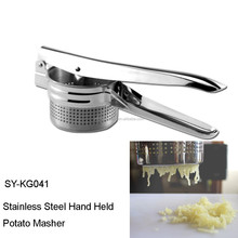 SY-KG041 stainless steel potato ricer and masher