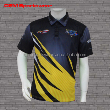 100 polyester dry fit custom racing polo shirts buy for Custom dry fit polo shirts