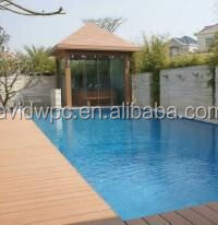 Decorative decking garden decking wpc decking for landscape projects