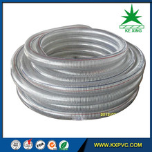 HOT SALE 2 inch plastic flexible drain Pvc Steel Wire Hose
