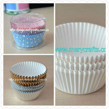 2013 hot sale wedding cake decoration various colors of cupcake liners bulk