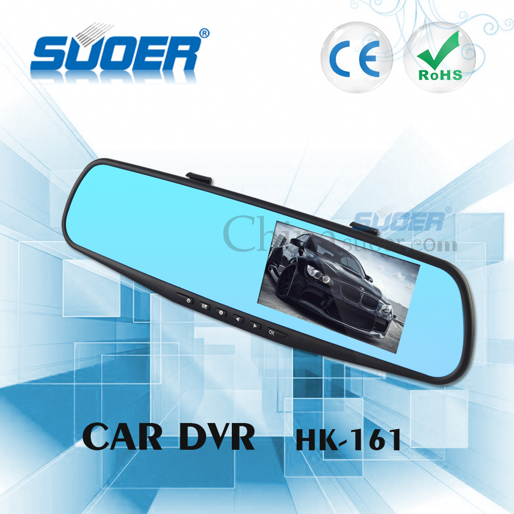 HD DVR Car Video Camera Record Vehicle Rear-view Mirror DVR for Car
