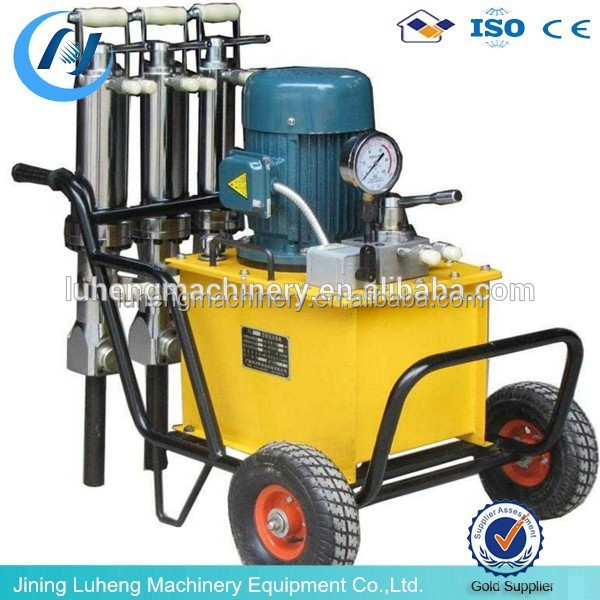 Hydraulic rock splitter/Quarry Stone Cutting Machine/concrete stone splitter machine