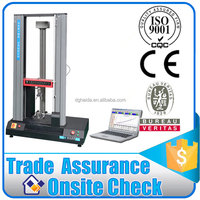 Plastic Material Tensile Elongation Strength Test Equipment