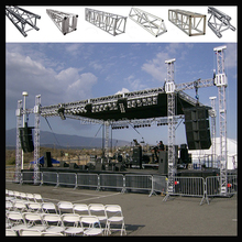 aluminum material stage lighting lift truss system,box truss