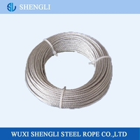7*7 Hot-dipped Galvanized Steel Wire Rope 7 Strands