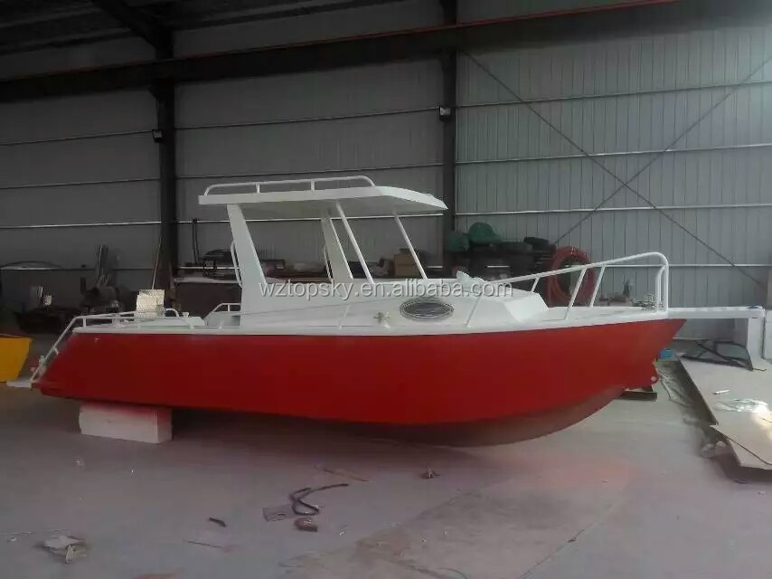 Aluminum boat buy aluminum boat aluminum cabin boats for Aluminum boat with cabin for sale