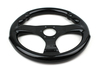 Supper Light Weight Dry Carbon Fiber Racing Steering Wheel 350cm