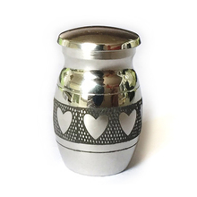 Promotional metal waterproof dog pet cremation urn stand