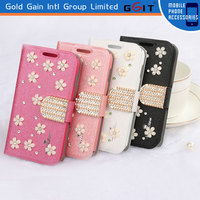 GGIT Flip Wallet Case for Samsung for Galaxy S4 Leather Case for S4