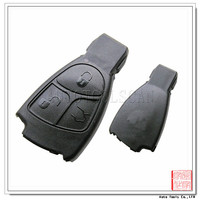Complete car blank key For Benz Smart Key shell with Blade 3 button [ AS002010 ]