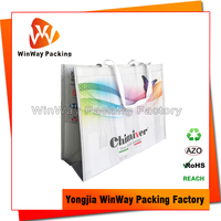 Handle Style PP Woven Plastic Shopping Bag