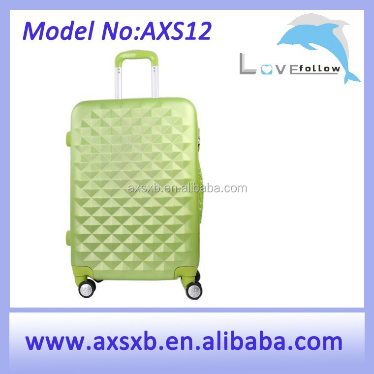 Zipper wholesale cheap hard shell luggage cases