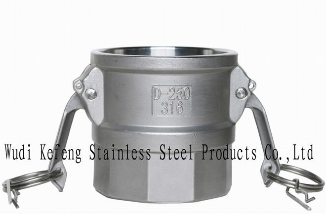 stainless steel camlock fitting (victaulic couplings,coupling series)part D