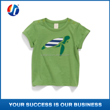 Guangzhou kids garment factory baby clothing cotton tshirt