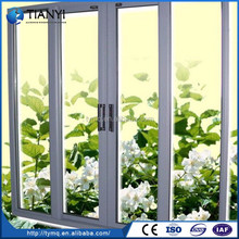 Popular High Quality Aluminum Frame Tempered Glass Window
