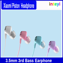 Original Xiaomi Earphone Headphone Piston 3 Simple Edition colorful Headsets with Mic For iPhone Xiaomi mi 2 3 4 Redmi