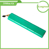 12V 3500mAh NiMh Rechargeable Battery Pack for Neato Botvac Series and Bostvac D Series Robot Vacuums