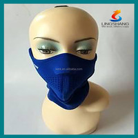 Neoprene neck warmer motorcycle face shield skiing sports face mask protective mask