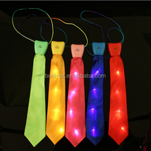 Fancy design light up flashing led event party bow tie