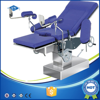 Optional colour delivery operation table for hospital room equipment