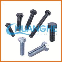 High Tensile Fastener nut and bolt, undercarriage parts sprocket bolt and nut