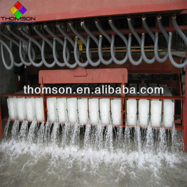 Ammonia system big block ice making machine