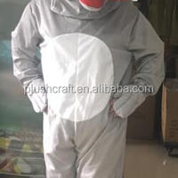 Adult Plush Wolf Costume Fancy Dress