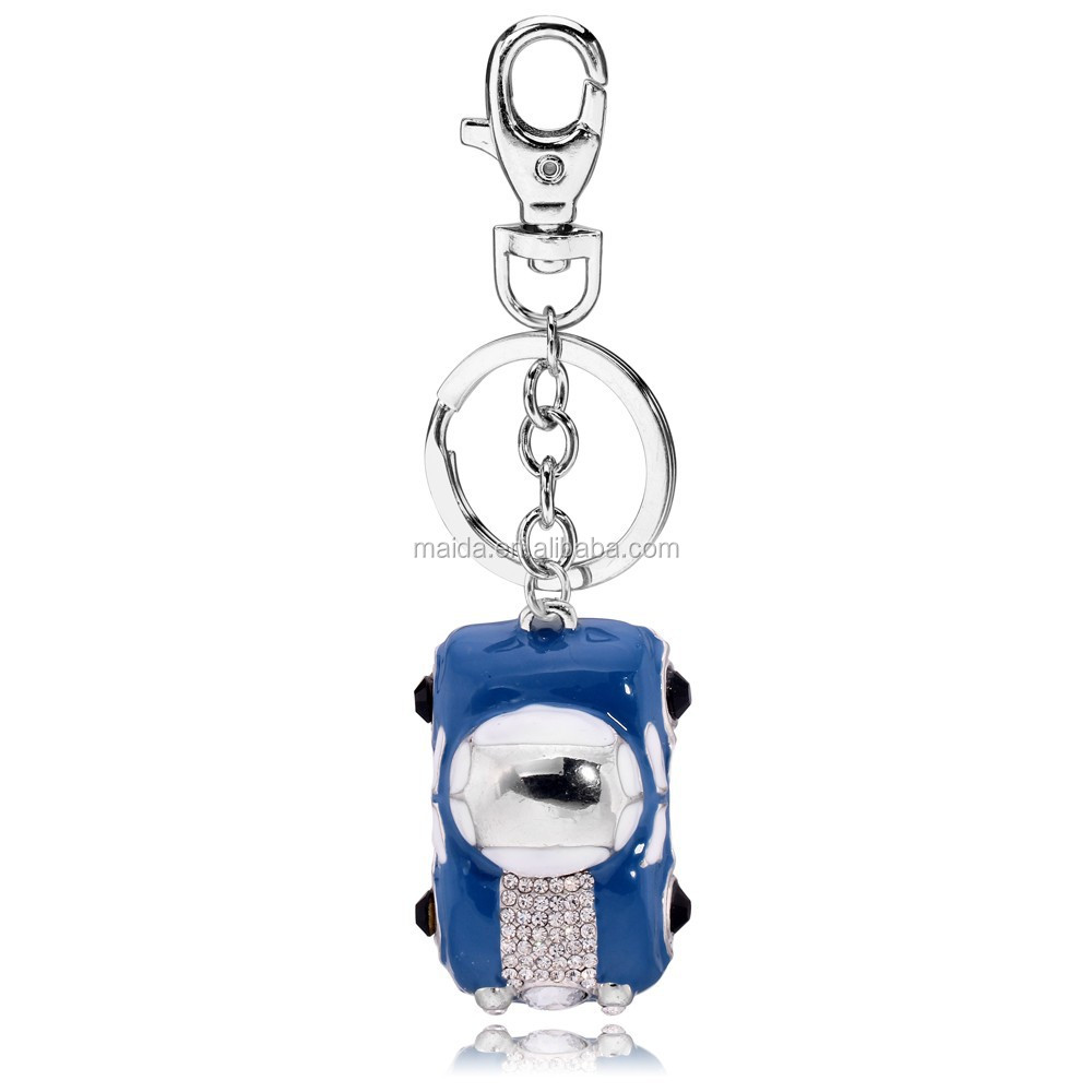 2014 fashion alloy metal car keyring ,fancy key ring for promotional gift