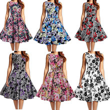 C89064A rockabilly pinup clothing 50's dresses retro vintage style prom bridal hip hop swing dance dress wholesale