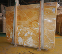 Preferential prices yellow types of marble onyx slab 05#