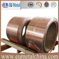 Flat copper coil used as transformer winding material made in China