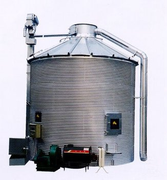 silo grain dryer [Multipurpose design for drying & storage] Rice drying machine