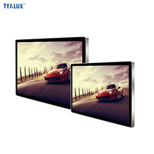 55inch wall mounted touch wifi advertising screen wall panel lcd display kiosk