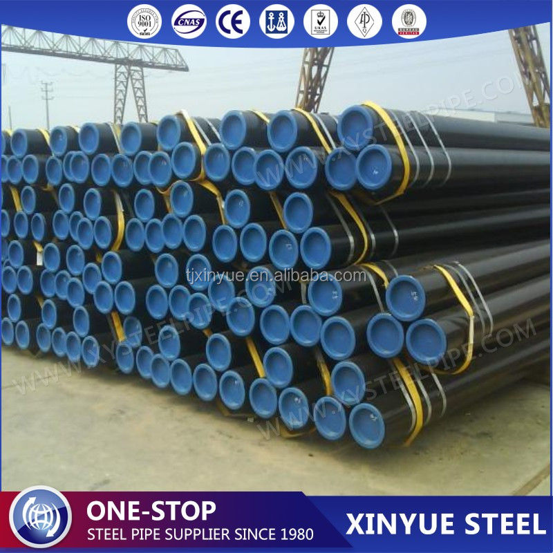 DN 600 Large Diameter API 5L / ASTM A106 Gr B SCH80 Hot Dip Galvanized Seamless Mild Steel Pipes