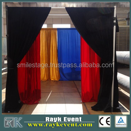 Backdrop Portable Telescopic used photo booth for sale