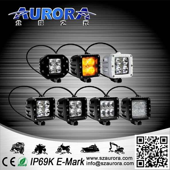 Top Quality Aurora Offroad Led Truck Light for Motorcycles