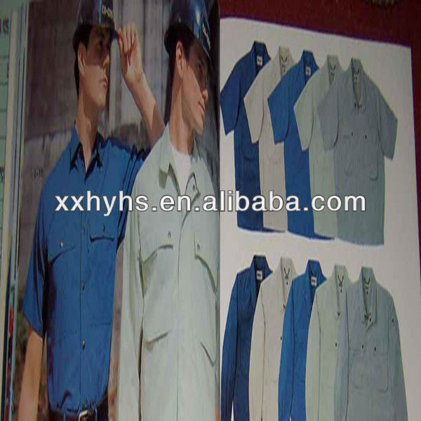 more colour oil field flame resistance safety warm shirt made in china factory